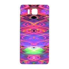 Neon Night Dance Party Pink Purple Samsung Galaxy Alpha Hardshell Back Case by CrypticFragmentsDesign