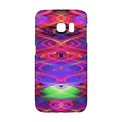 Neon Night Dance Party Pink Purple Galaxy S6 Edge by CrypticFragmentsDesign