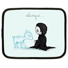 Always... Netbook Case (Large) by lvbart