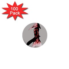 Pyramid Head Drippy 1  Mini Buttons (100 Pack)  by lvbart