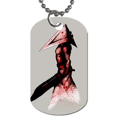 Pyramid Head Drippy Dog Tag (two Sides) by lvbart
