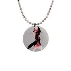 Pyramid Head Drippy Button Necklaces by lvbart