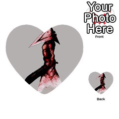 Pyramid Head Drippy Multi Purpose Cards (heart)  by lvbart