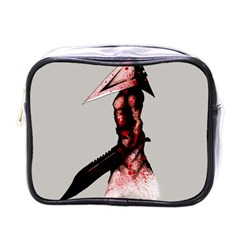 Pyramid Head Drippy Mini Toiletries Bags by lvbart