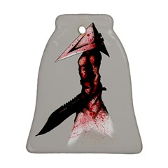 Pyramid Head Drippy Bell Ornament (2 Sides) by lvbart
