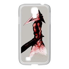 Pyramid Head Drippy Samsung Galaxy S4 I9500/ I9505 Case (white) by lvbart