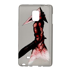 Pyramid Head Drippy Galaxy Note Edge by lvbart