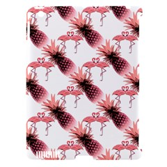 Flamingo Pineapple Tropical Pink Pattern Apple Ipad 3/4 Hardshell Case (compatible With Smart Cover) by CrypticFragmentsColors