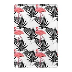 Flamingos Palmetto Fronds Tropical Pattern Samsung Galaxy Tab Pro 12 2 Hardshell Case by CrypticFragmentsColors