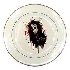 Momma s Boy 13 Porcelain Plates by lvbart