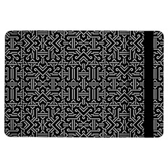 Black And White Ethnic Sharp Geometric  Ipad Air Flip by dflcprints