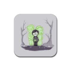 Sorcerer s Stone  Rubber Coaster (square)  by lvbart