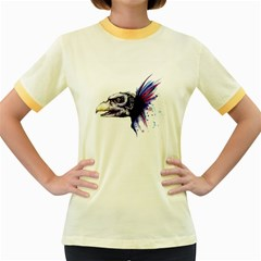 Skeksis Women s Fitted Ringer T-Shirts by lvbart