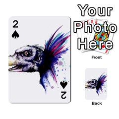 Skeksis Playing Cards 54 Designs  by lvbart