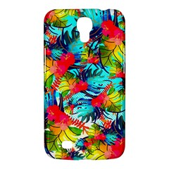 Watercolor Tropical Leaves Pattern Samsung Galaxy Mega 6 3  I9200 Hardshell Case by TastefulDesigns