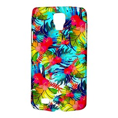 Watercolor Tropical Leaves Pattern Galaxy S4 Active by TastefulDesigns