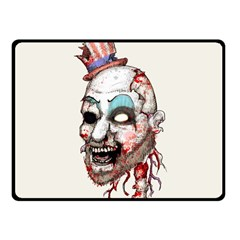 Captain Zombie Fleece Blanket (small) by lvbart