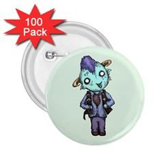 Maurice 2 25  Buttons (100 Pack)  by lvbart