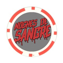 Nuits De Sang By Dehongher   Poker Chip Card Guard   Vmh40giktmo5   Www Artscow Com Front