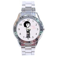 Rocky Horror Plush  Stainless Steel Analogue Watch by lvbart