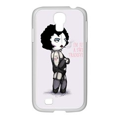 Rocky Horror Plush  Samsung Galaxy S4 I9500/ I9505 Case (white) by lvbart