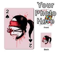 Cardio Masochist  Playing Cards 54 Designs  by lvbart