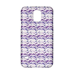 Floral Stripes Pattern Samsung Galaxy S5 Hardshell Case  by dflcprints