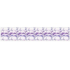 Floral Stripes Pattern Flano Scarf (large)  by dflcprints