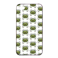 Funny Robot Cartoon Apple Iphone 4/4s Seamless Case (black) by dflcprints