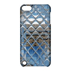 Mirrored Glass Tile Urban Industrial Apple Ipod Touch 5 Hardshell Case With Stand