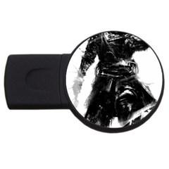 Assassins Creed Black Flag Tshirt Usb Flash Drive Round (2 Gb)  by iankingart
