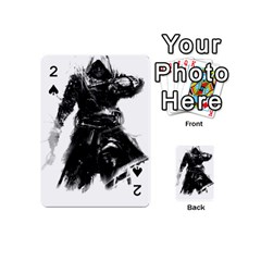 Assassins Creed Black Flag Tshirt Playing Cards 54 (mini)  by iankingart