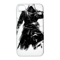 Assassins Creed Black Flag Tshirt Apple Iphone 4/4s Hardshell Case With Stand by iankingart