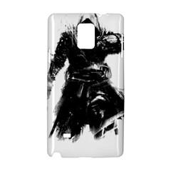 Assassins Creed Black Flag Tshirt Samsung Galaxy Note 4 Hardshell Case by iankingart