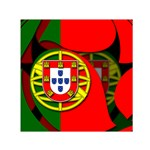 Portugal Small Satin Scarf (Square)