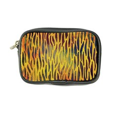 Colored Tiger Texture Background Coin Purse by TastefulDesigns