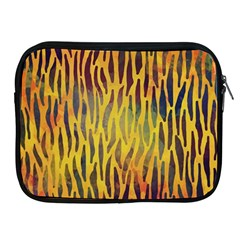 Colored Tiger Texture Background Apple Ipad 2/3/4 Zipper Cases by TastefulDesigns