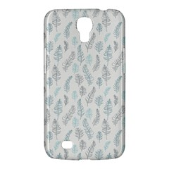 Whimsical Feather Pattern Dusk Blue Samsung Galaxy Mega 6 3  I9200 Hardshell Case by Zandiepants