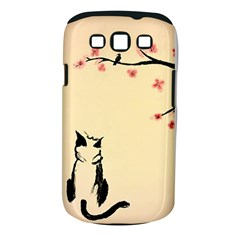 Luck And Patience Cat  Samsung Galaxy S Iii Classic Hardshell Case (pc+silicone) by FundaKindaDay