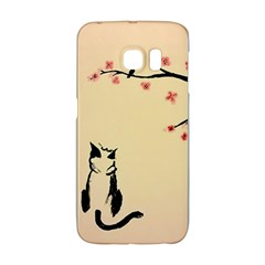 Luck And Patience Cat  Galaxy S6 Edge by FundaKindaDay