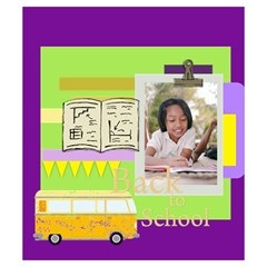 Back To School By School   Drawstring Pouch (small)   Wfg2f3ha5pi0   Www Artscow Com Back