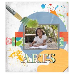 Back To School By School   Drawstring Pouch (medium)   Kyqbyebmghhx   Www Artscow Com Front