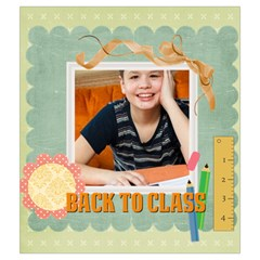 Back To School By School   Drawstring Pouch (medium)   X9t9tp3aw4p8   Www Artscow Com Back