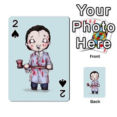 Plushie Bateman Playing Cards 54 Designs  by lvbart