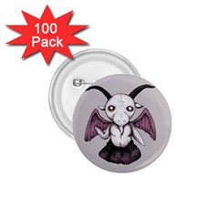 Plushie Baphomet 1 75  Buttons (100 Pack)  by lvbart
