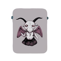 Plushie Baphomet Apple Ipad 2/3/4 Protective Soft Cases by lvbart