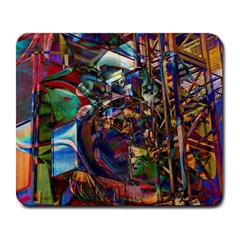 Las Vegas Nevada Ghosts Large Mousepads by CrypticFragmentsDesign