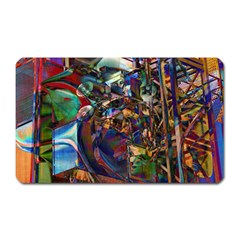 Las Vegas Nevada Ghosts Magnet (rectangular) by CrypticFragmentsDesign