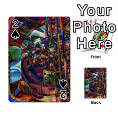 Las Vegas Nevada Ghosts Playing Cards 54 Designs  by CrypticFragmentsDesign
