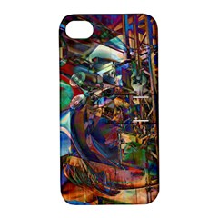 Las Vegas Nevada Ghosts Apple Iphone 4/4s Hardshell Case With Stand by CrypticFragmentsDesign